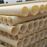 PVC排水管,PVC双壁波纹管200mm批发