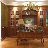 供应实木家具专家定制巴伦斯法式实木书桌