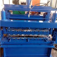 供应琉璃瓦820/900双层彩钢压瓦机