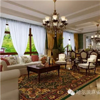 辰能溪树庭院-美式田园风格-哈尔滨麻雀装饰