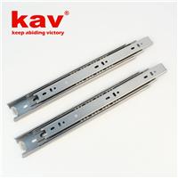 供应45宽不锈钢钢珠滑轨三节滑轨