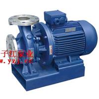 供应管道泵:ISWH卧式不锈钢管道离心泵