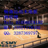 内蒙体育运动木地板厂直销篮球木地板报价
