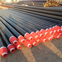 广西柳州聚氨酯复合直埋保温管安装程序