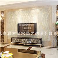 供应微晶石瓷砖背景墙,石材背景墙