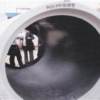 供应内衬塑料pvc复合钢筋混凝土管