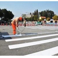 郑州道路划线、道路标线、停车场标线、划线