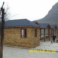 木质结构仿古中式建筑、木屋、木别墅等设计安装