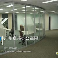 卓邦供应办公室隔断墙安装 玻璃高隔断批发