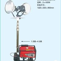 供应带发电机移动应急照明车 发电机供电灯
