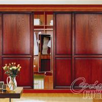 柯瑞尼定制家具中式简约推拉门衣柜 可定制