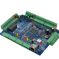 智杰门禁系统A7标准版双门网络门禁控制器