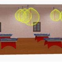 乒乓球馆设计方案,乒乓球馆选用什么灯最好