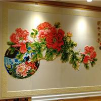 汉白玉石材背景墙