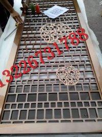 厂家专业定做不锈钢镜面钛金屏风隔断