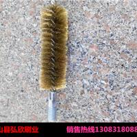 供应150*40mm钢丝清洗刷/外螺纹管道内孔刷