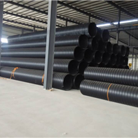 钢带增强聚乙烯螺旋波纹管/钢带双壁波纹管