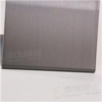 304高比发丝镀黑色不锈钢价格