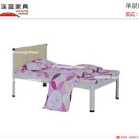 连盈家具占据了广东宿舍单层床市场厂家直销