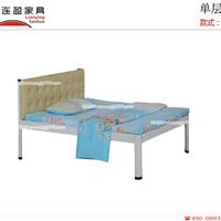 最舒适的单层铁床在哪里?当然是连盈家具