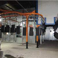 悬挂喷漆生产线 水帘喷漆台 自动喷漆线