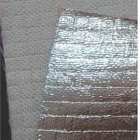 供应钢厂专用防火布防火花飞溅铝箔布