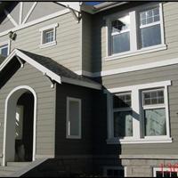 别墅外墙挂板新型环保材料绿活企口木纹板