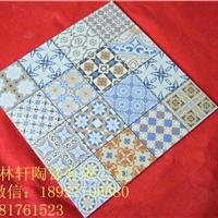 佛山地砖600*600仿古砖瓷砖西班牙可加工花
