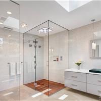 供应卫生间玻璃镜子,装饰玻璃,玻璃隔断