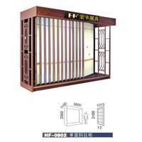 供应厂家定制平推式瓷砖展示柜,平推展示柜