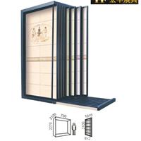 厂家供应定制优质瓷砖展示架,抽拉款展架