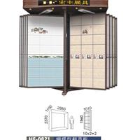 厂家优惠供应定做地面砖展示柜,瓷砖展具