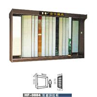 供应瓷砖展具,瓷砖展柜,双面平推展示