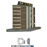 厂家供应文化石样板展示柜,木地板展柜