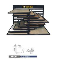 供应斜推式瓷砖展示架,厂家优惠定制展具