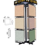 供应翻页式地砖展示架,旋转式展架,HF841
