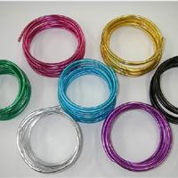 供应高韧性光面彩色铝线 6063氧化铝线