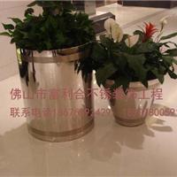 供应不锈钢花盆 园林装饰不锈钢花盆