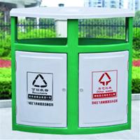 陕西垃圾桶西安街道铁皮垃圾桶不锈钢垃圾桶