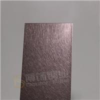 防锈厨柜不锈钢板 304高比和纹褐金不锈钢
