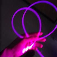 2mm玩具发光导光条,发光通体轮廓光纤
