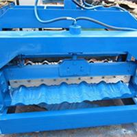 供应1050型琉璃瓦压瓦机