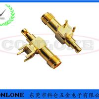 SMA-KWE-RG174焊线射频插座