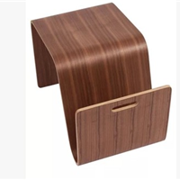 厂家直销弯曲木小茶几,电脑桌,小巧简约。