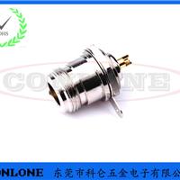 N型母头焊线式插座,N型射频同轴连接器