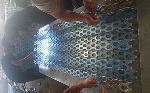 上汽大众4s店外墙镂空铝板//奥迪外墙装饰网