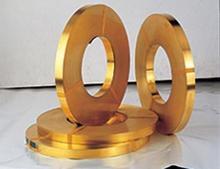 现货H68黄铜带、H70半硬黄铜带供应商