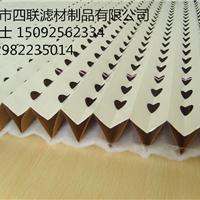 折叠式漆雾过滤纸  W型油漆过滤纸 厂家推荐