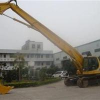 供应挖掘机改装24米三段式加长臂,拆楼臂