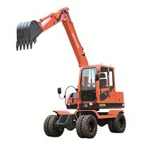 供应新源挖掘机XY75W-9轮式挖掘机